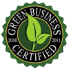 We a Certified GREEN Business!